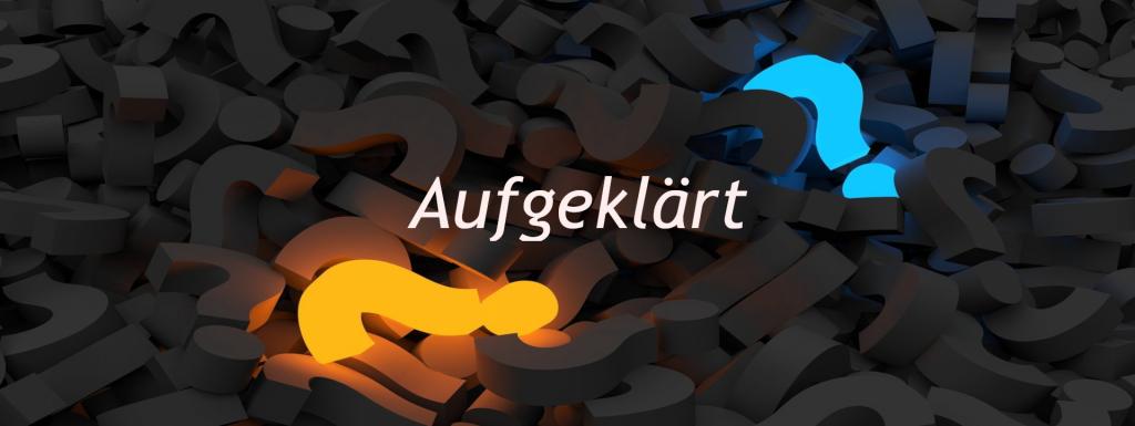 Banner Aufgeklärt