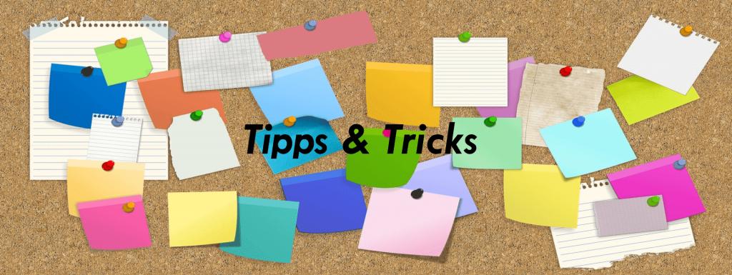 Banner Tipps&Tricks