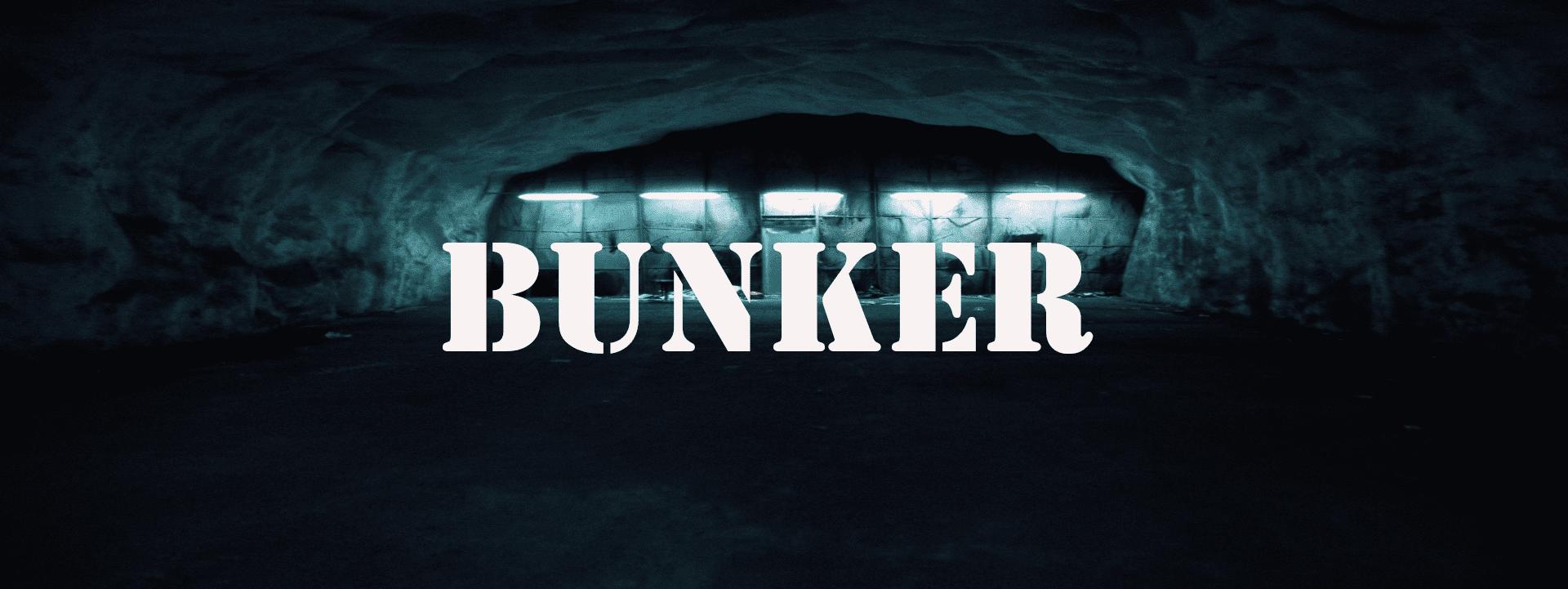Gedichtbanner Bunker