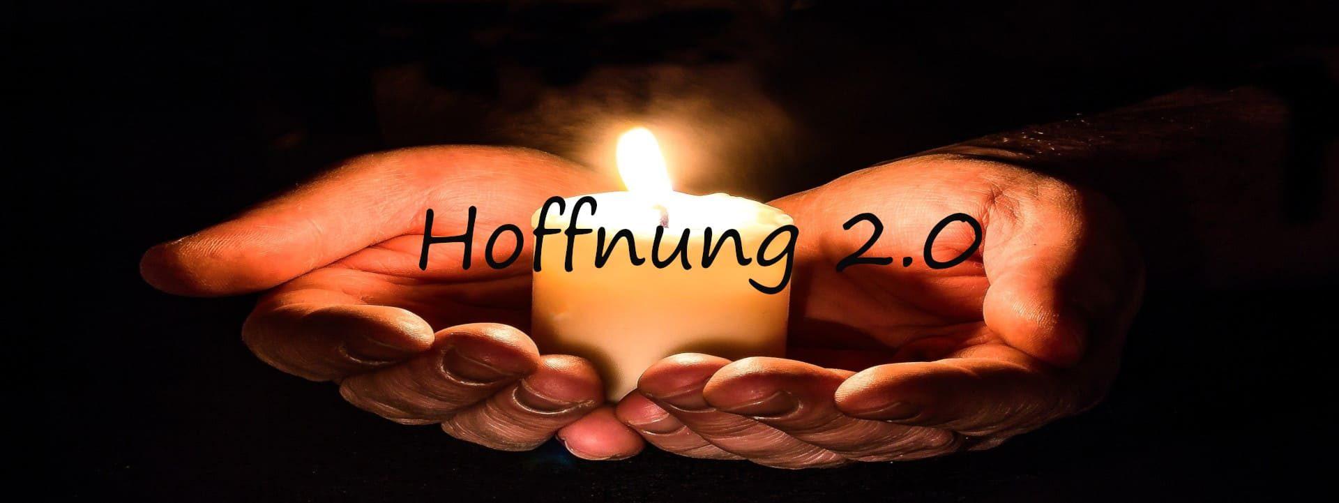 Gedichtbanner Hoffnung 2.0
